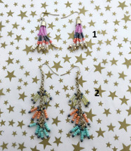 Doorbuster Fringey Bead Earrings