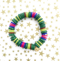 Colorful Initial Bracelet *Limited Edition*