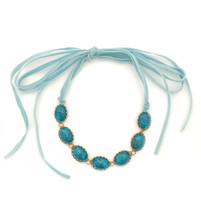 Lovely Choker - Blue