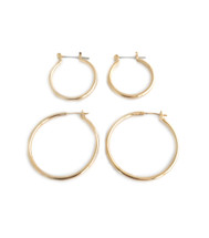 Hooped Up Hoops Set - Gold