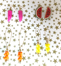 Colorful One-Of-A-Kind Earrings