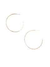 Bamboo Hoops Gold - Seen on Esther Santer
