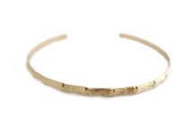 Bamboo Collar - Gold