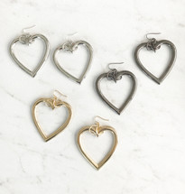 Heart Hoops *Limited Edition* Seen On The Code Of Style!