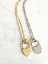 Heart Lock Long Necklace *Limited Edition*