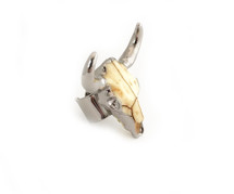 Austin Ring - Silver: Seen On Miss Moore Style!