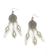 Canyon Earrings Silver - Seen on It's Le Jules!