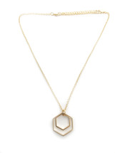 Geometric Necklace - Seen on The Current Crush!
