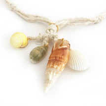 Sunrise Shell Necklace: Seen On Code Of Style!
