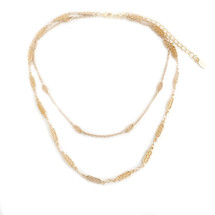 Wayfarer Choker -Gold