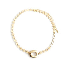 Oval Circles Choker -Seen on It's Le Jules!