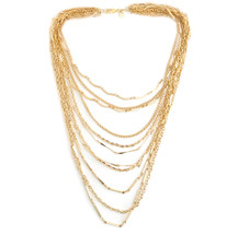 All The Layers Necklace - Gold: Seen on Debbie M on Home & Family!