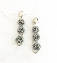 Gray Gardens Earrings