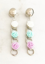 Pastel Garden Earrings