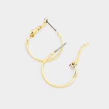 Shiny Little Gold Hoops *Limited Edition*