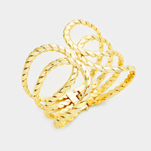 Twisted Rope Hinged Bracelet *Limited Edition*