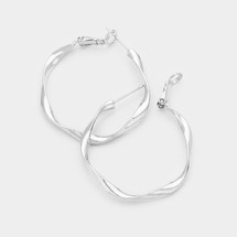 Twisted Silver Hoops *Limited Edition*
