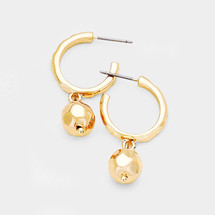 Gold Ball Hoops *Limited Edition*