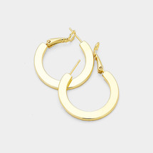 Cecelia Hoops - Gold *Limited Edition*: Seen on Sarah Jeffery!