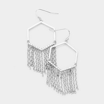 Hexagon Hoop Earrings *Limited Edition*