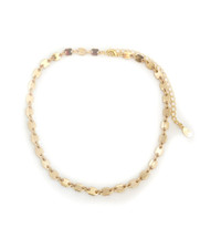 Jackie Choker Necklace - Gold: Seen On What Would Kiki Wear!