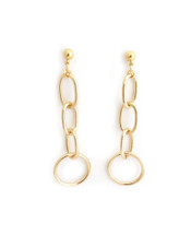 Janet Hoops - Gold