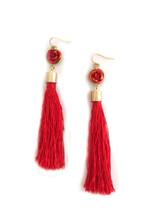 LAST PAIR! Rosita Tassel Earrings: Seen on Jules Lookbook!