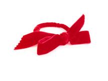 Velvet Bracelet - Red