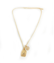 Star Sign Meets Initial Necklace - NEW!