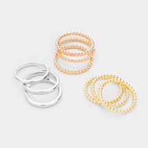 Classic Stacking Ring Set