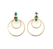 Envy Double Hoop Earrings