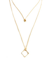 Girl Boss Necklace - Gold