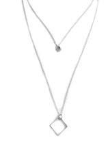 Girl Boss Necklace - Silver