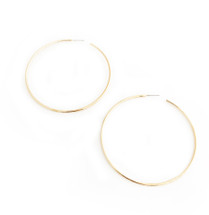 "Skinny 2"" Hoops Gold"