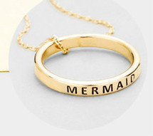 Mermaid Ring Necklace