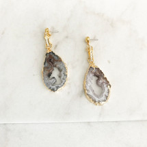 Druzy Geode Sparkle Earrings