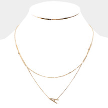 A Few Left! Layered Initial Necklace: Seen On Today Show!