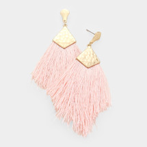 Ready To Mingle Earrings - Blush