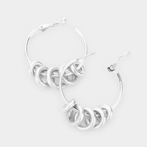 Rings Hoops: Gold Or Silver