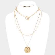 Coined Necklace