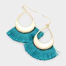 Teal Dreams Earrings