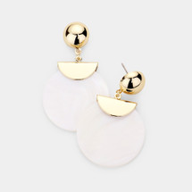 Montauk Disc Earrings