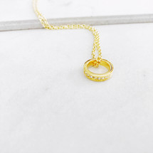 Pretty Little Ring Necklace