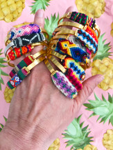 Playa Bracelet: Made using recycled materials