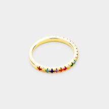 Skinny Rainbow Ring