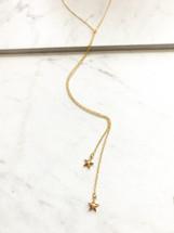 Little Stars Delicate Wrap Necklace: LAST ONE!
