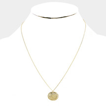Victoria Coin Necklace