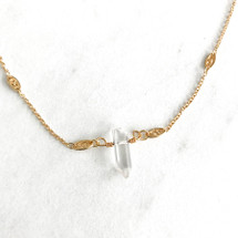 Tiny Crystal Necklace