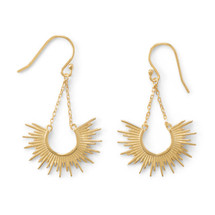 Sunburst Earrings - Sterling Silver