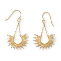 Sunburst Earrings - Sterling Silver